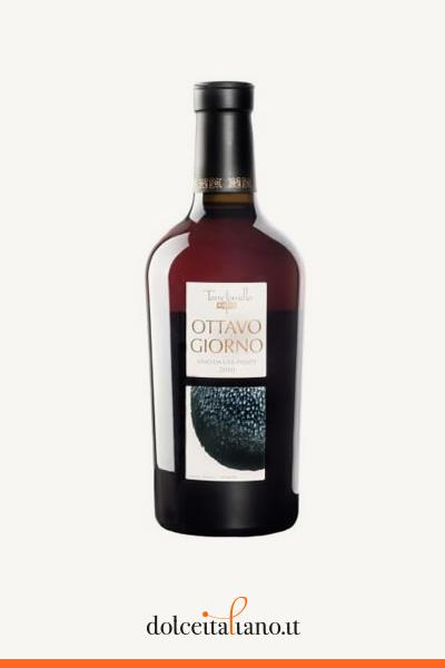 """Confezione da  6 bottiglie da 50cl di """"OTTAVO GIORNO"""" Vino da uve stramature di Enrico Sgorbati"""