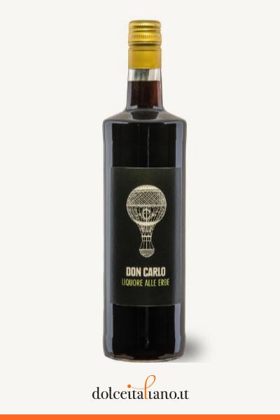 Liquore alle erbe Don Carlo di Gargiulo Carlo