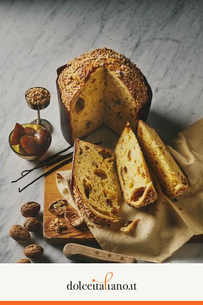 Panettone fichi, mele e noci di Infermentum