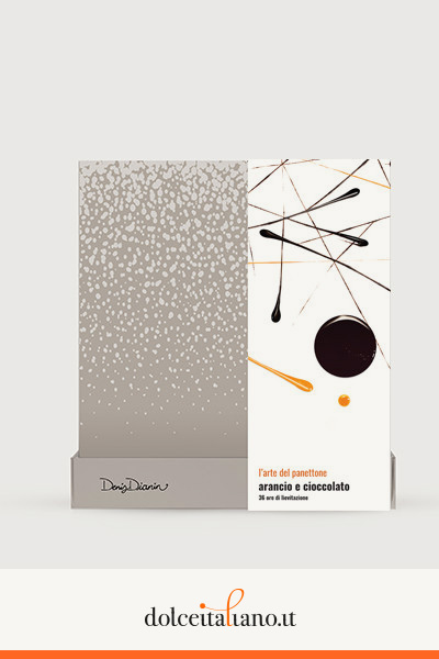 Panettone arancio e cioccolato di Denis Dianin