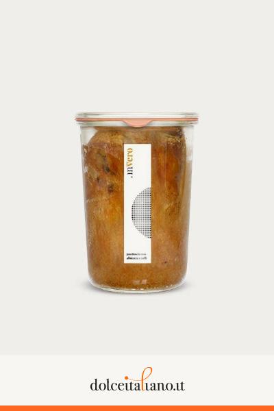 Invero panettone in vaso al gusto albicocca e caffè di Denis Dianin