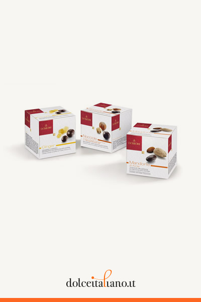 Kit Dragées Cubotto da 3 pezzi di Domori