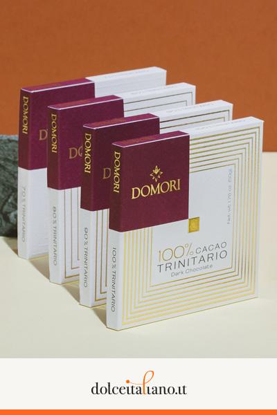 Kit degustazione Trinitario da 4 pezzi di Domori