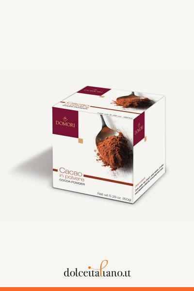 Confezione da 2 pezzi di cacao in polvere di Domori