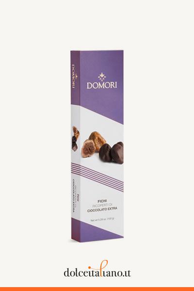 Fichi ricoperti di cioccolato di Domori