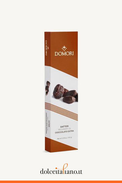 Datteri ricoperti di cioccolato di Domori