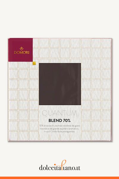 Il Blend Fondente 70% di Domori