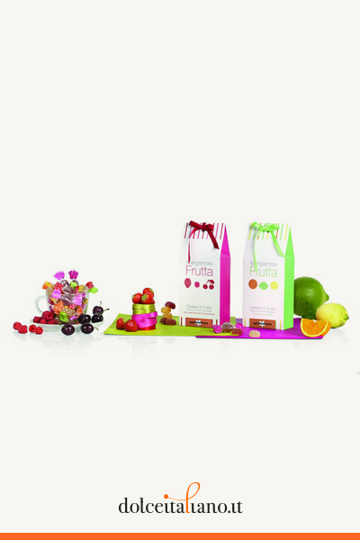 Confezione da 200g di gelatine agli agrumi di Agrimontana