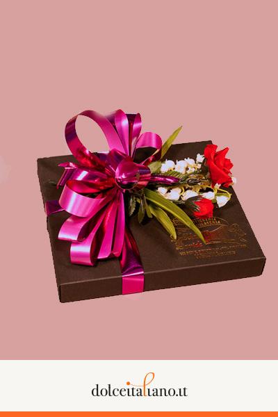 Confezione regalo da 21 pezzi di cioccolatini assortiti di Davide Dall'Omo