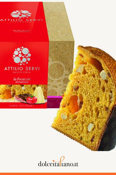 Focaccia all'amatriciana di Attilio Servi