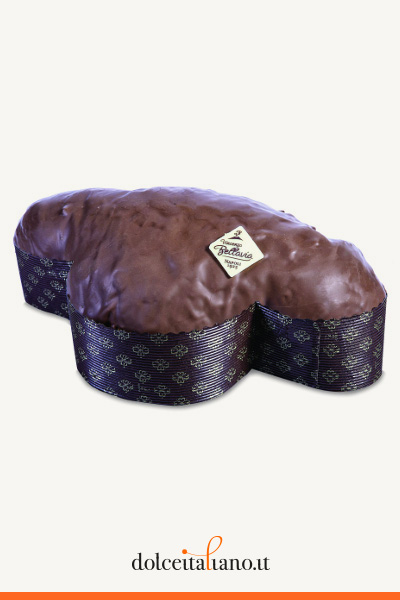 Colomba al cioccolato di Vincenzo Bellavia