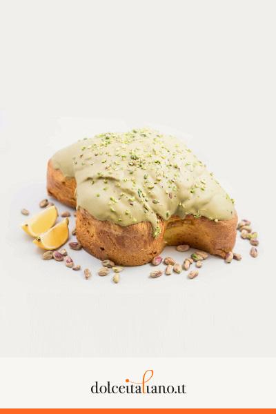 Primavera – Colomba al limone e pistacchio di Luca Porretto