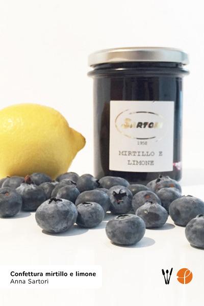 Confettura mirtillo e limone di Anna Sartori