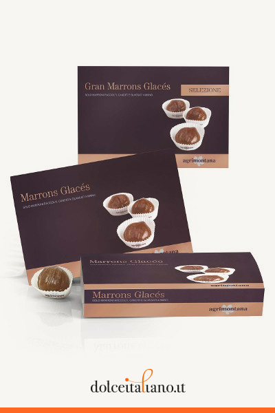 Marron glacés in pirottino di Agrimontana