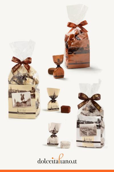 3 Sacchetti assortiti di Tartufi di Cioccolato: I Classici de La Perla di Torino