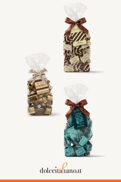 3 Sacchetti assortiti di Tartufi di Cioccolato: Le Novità de La Perla di Torino