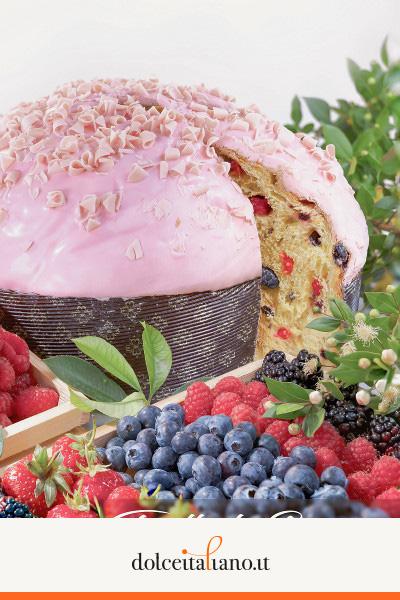 Panettone ai Frutti di Bosco di Salvatore Capaci