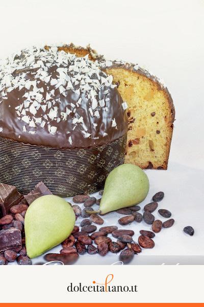 Panettone al Cioccolato e Pera di Salvatore Capaci