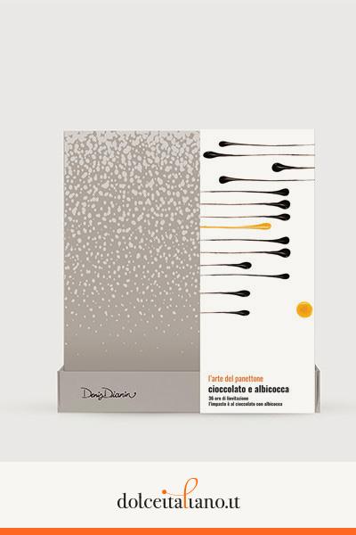 Panettone cioccolato e albicocca di Denis Dianin
