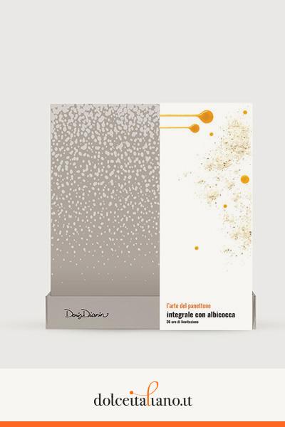 Panettone integrale con albicocca di Denis Dianin
