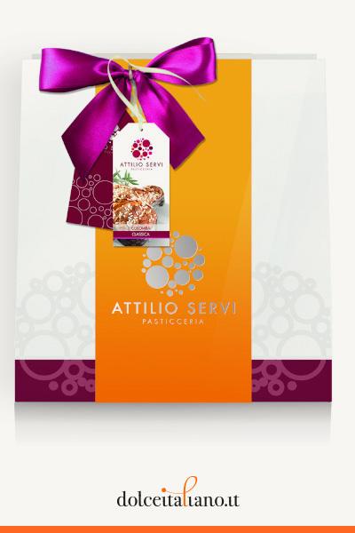 Colomba classica shopper  di Attilio Servi