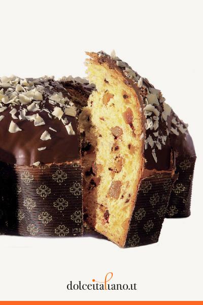 Colomba alla Pera e Cioccolato di Salvatore Capaci