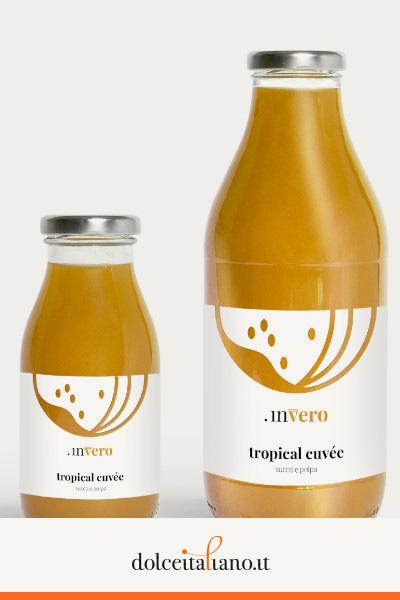 Invero succo di frutta Tropical Cuvée di Denis Dianin
