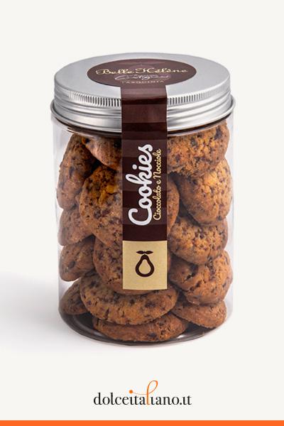 Cookies cioccolato e nocciole di Francesca Castignani