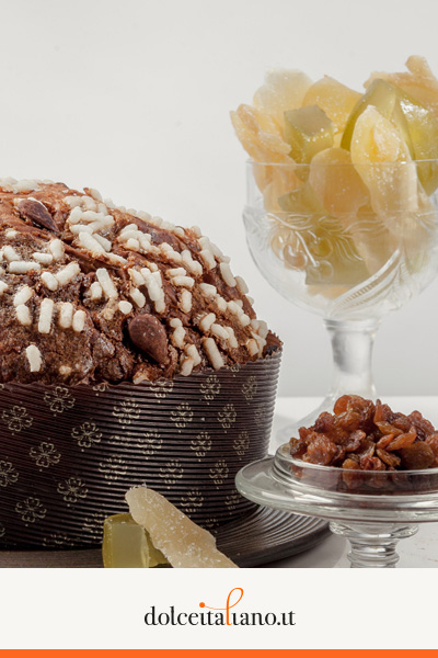 Traditional Panettone with scarping by Giancarlo De Rosa