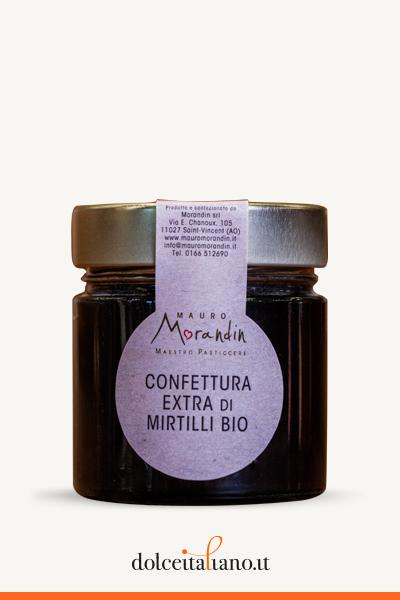Confettura Extra di Mirtilli Bio di Mauro Morandin