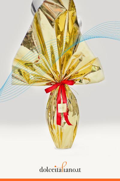 Uovo al cioccolato al latte di Anna Sartori