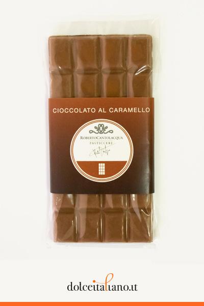 Cioccolato al Latte e Caramello 36% di Roberto Cantolacqua