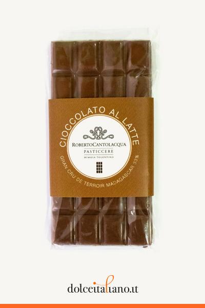 Cioccolato al Latte Gran Cru De Terroir Madagascar 33% di Roberto Cantolacqua