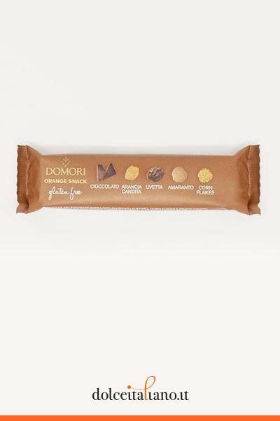 Orange snack by Domori