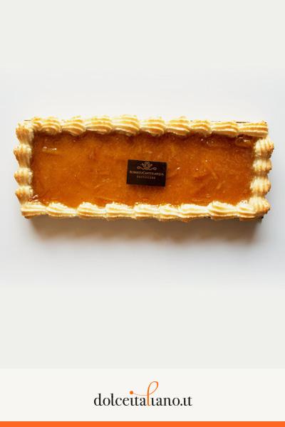 Crostata con marmellata di arance amare di Roberto Cantolacqua