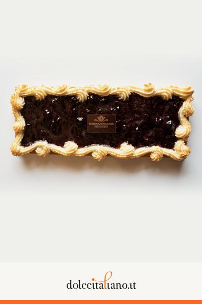Crostata con confettura di frutti di bosco di Roberto Cantolacqua