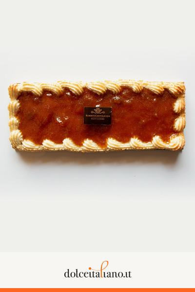 Crostata con confettura di albicocca di Roberto Cantolacqua