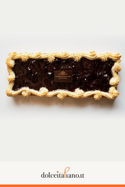 Crostata con confettura di amarena di Roberto Cantolacqua
