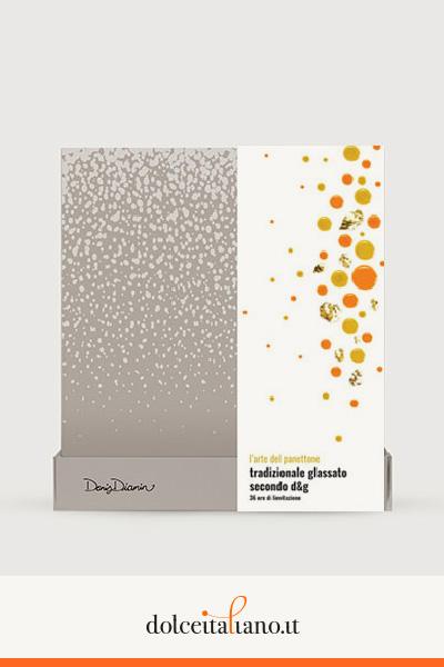 """Panettone tradizionale glassato """"secondo d&g"""" di Denis Dianin"""