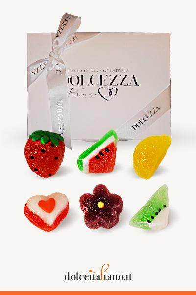 Confezione da 24 gelèe assortite di Dolcezza Firenze