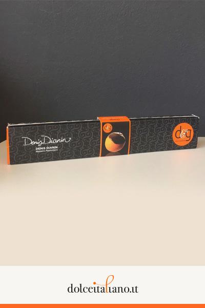 Arancia e cioccolato fondente di Denis Dianin
