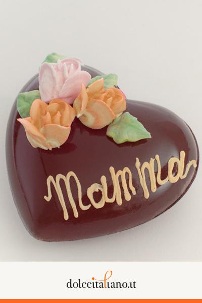 Cuore di cioccolato al latte vuoto di Mauro Morandin