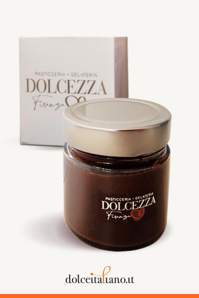 Crema al cioccolato fondente e nocciole