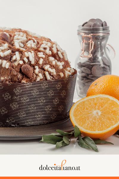 Panettone Arancia e Cioccolato di Giancarlo De Rosa