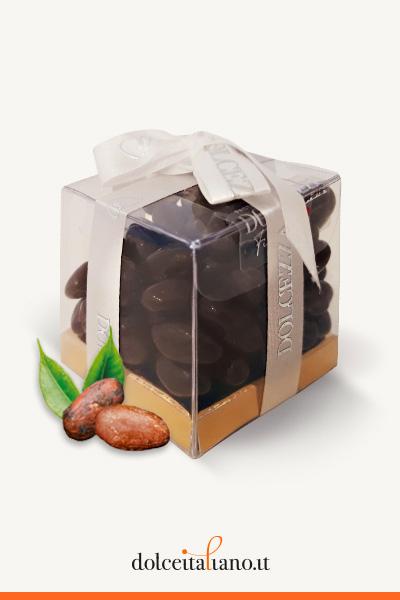 Dragées - fave di cacao ricoperte con cioccolato al latte di Dolcezza Firenze