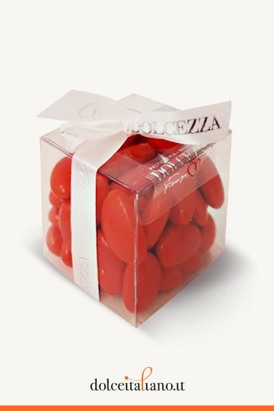 Confetti rossi di Dolcezza Firenze