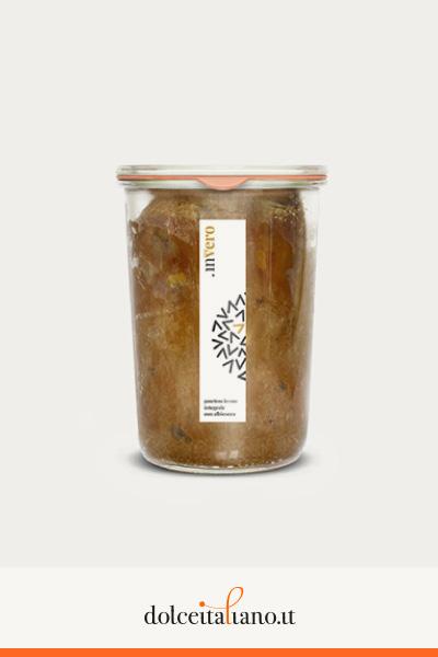 Invero panettone in vaso integrale con albicocca