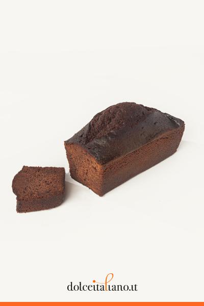 Cake al cacao e zenzero candito di Paolo Sacchetti
