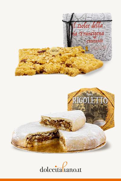Kit torte di Claudio Gatti: Croccante e Rigoletto