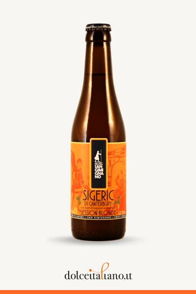 Birra Sigeric di Canterbury - Blonde di Birrificio San Gimignano